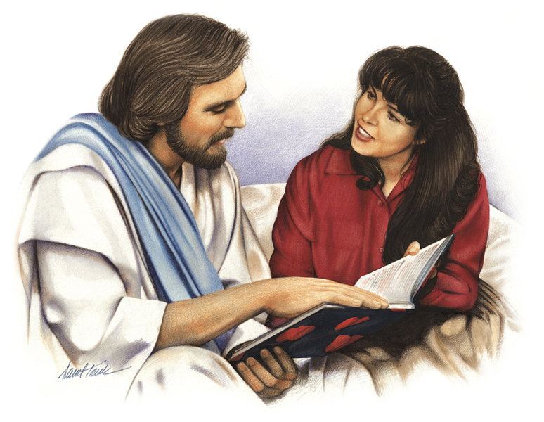 Jesus read with you