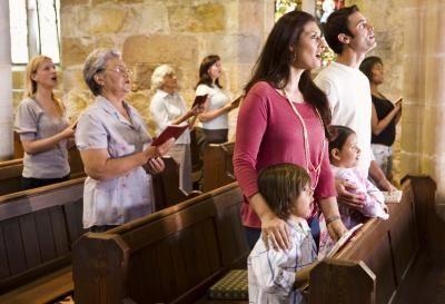 attending a church